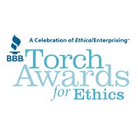 BBB Ethics Award Logo