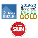 Calgary Readers Choice Award 2020